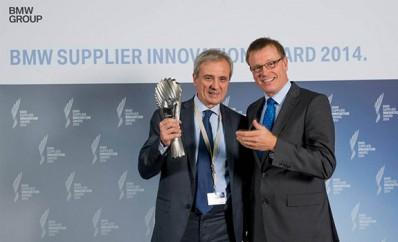 Pirelli gavo apdovanojimą iš BMW už inovacijas